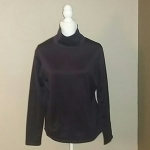 Columbia Cowl Neck Eggplant Top